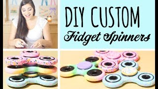 Wanna turn those plain, boring fidget spinners into exciting ones?! Here's How! Make your fidget spinners one of a kind to fit your personality! UPDATES: -I know ...