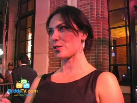 ComicCon Red Carpet  Sam Trammell and Michelle Forbes