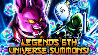 WHAT AMAZING SUMMONS! CHAMPA AND VADOS SUMMONS! | Dragon Ball Legends