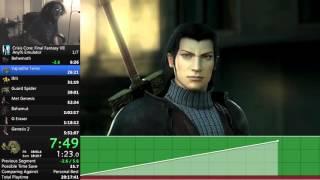 Crisis Core: Final Fantasy VII Any% New Game Emulator speedrun - 5:39:24