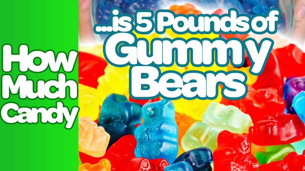 How Much Is 5 Pounds Of Gummy Bears Candystorecom Youtube