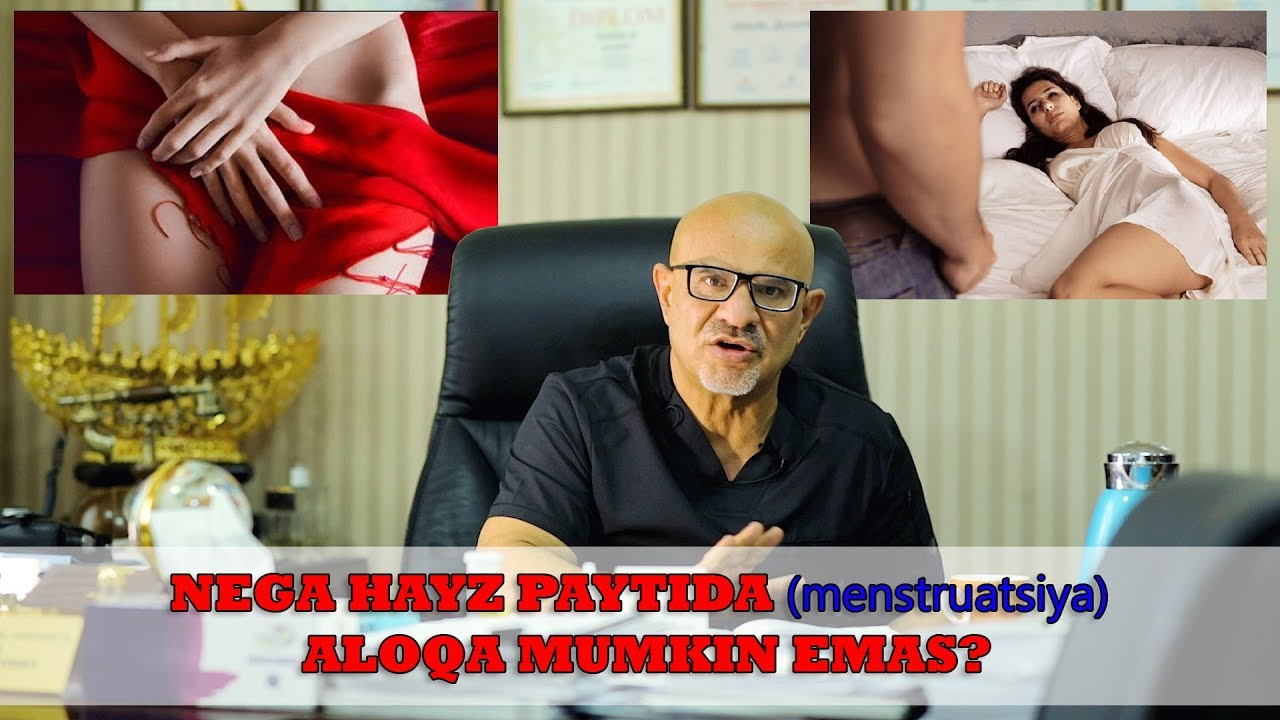 #81 DOKTOR-D: NEGA HAYZ (menstruatsiya) PAYTIDA JINSIY ALOQA MUMKIN EMAS?