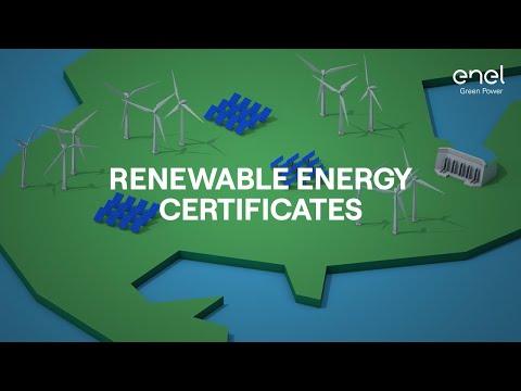 Renewable energy certificates: how do they work?