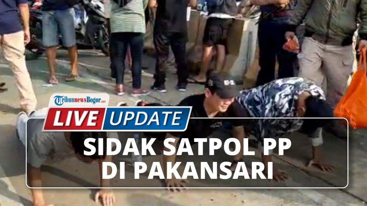 🔴 LIVE UPDATE: Sidak Protokol Kesehatan oleh Satpol PP Kabupaten Bogor di Area Stadion Pakansari