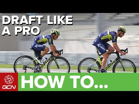 How To Draft Like A Pro | Essential Cycling Skills