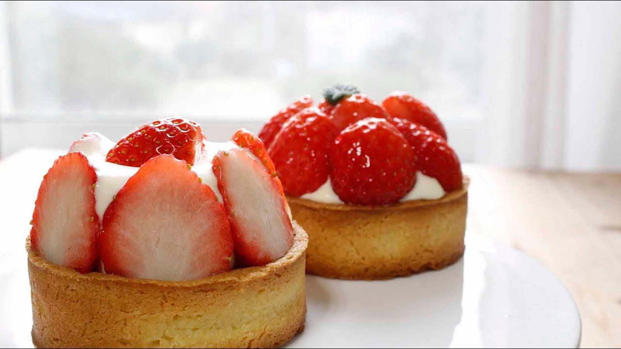 ... Strawberry Cream Cheese Tart ][그녀의베이킹:그녀의요리