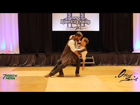 Derek Leyva & Mark Medley - River City Swing 2019 ProAm Open 3rd Place