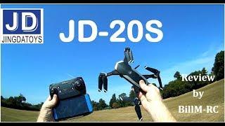 JDRC JD-20S review -  Flights, Features, Antenna mods & FAIL (Part II)