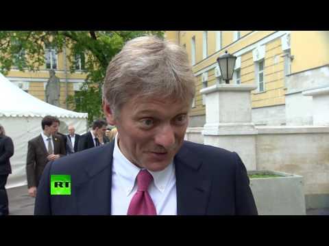 Дмитрий Песков поздравил
