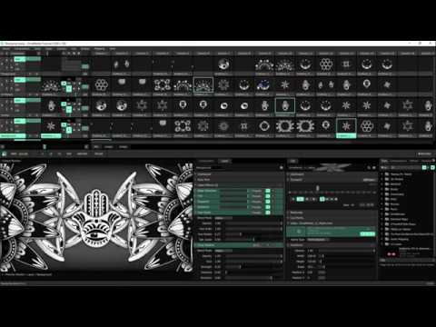 How To Prepare For A Live VJ Show Using Resolume VJing Software - OrnaMental's Tutorial