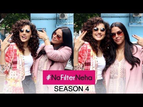#NoFilterNeha   Taapsee Pannu Shoots For Neha Dhupia's Chat Show Season 4
