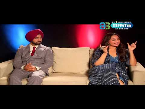 Exclusive Interview | Sonakshi Sinha & Diljit Dosanjh | Welcome To New York