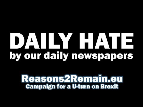 Daily Hate By Our Daily Newspapers