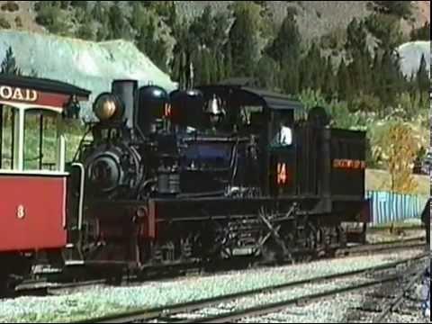 Riding the Georgetown Loop Railroad 1999