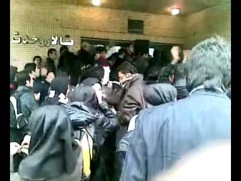 Iran Kerman 8 Dec 09 (17 Azar) student protest P1