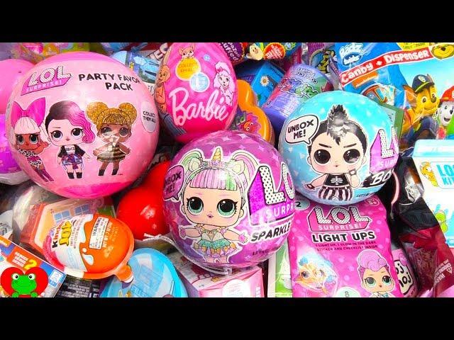 Lol Boys Sparkle Series Surprise Eggs Stickers Lip Gloss