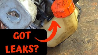 String Trimmer Fuel Leak Repair