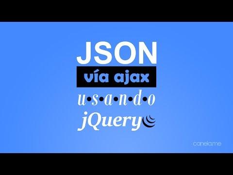 Tutorial: Cómo leer JSON usando jQuery vía ajax