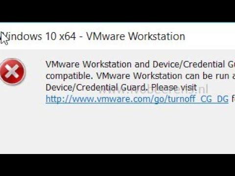how to fix vmware