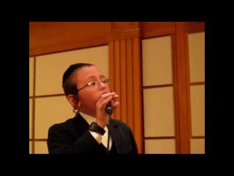 Child soloist Moti Lazar with Dudi Kalish Singing