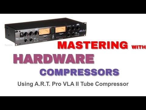 Mastering A Song Using Hardware Compressor - Studio One Pro - Pipeline VST - ART Pro VLA II