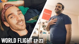 STAYING AT A REFUGEE'S HOUSE - World Flight Episode 23