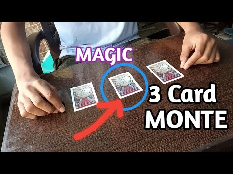 3 Card Monte Trick|Magic With Three Cards/ Revealed Magic With Just 3 Cards| Three Card Monte HINDI