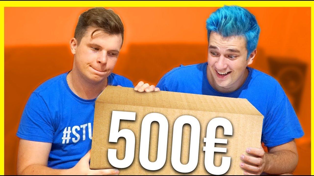 500€ MYSTERY BOX *IZNENAĐENJE*