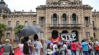 CTEP se manifestó frente a Casa de Gobierno