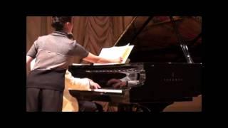 """Silvio Celeghin plays Schumann op.60 n.1 with Doppio Borgato in """"Gran Teatro La Fenice"""" - Venice"""