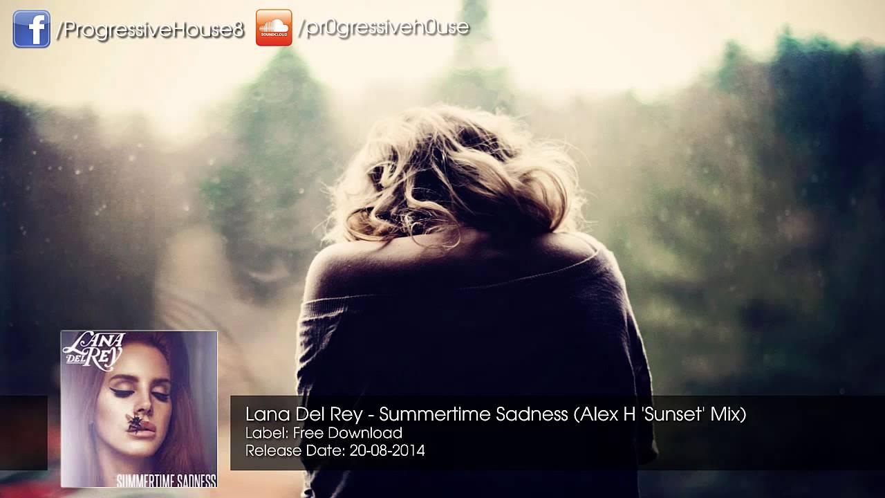 Скачать бесплатно mp3 summertime sadness