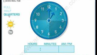 Telling Time Interactive Software