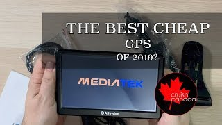 Is This The Best Cheap Gps For 2019 Alfawise 7 Car Gps Review Youtube