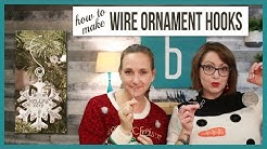 Handmade Wire Ornament Hooks - From Beaducation Live Episode 26