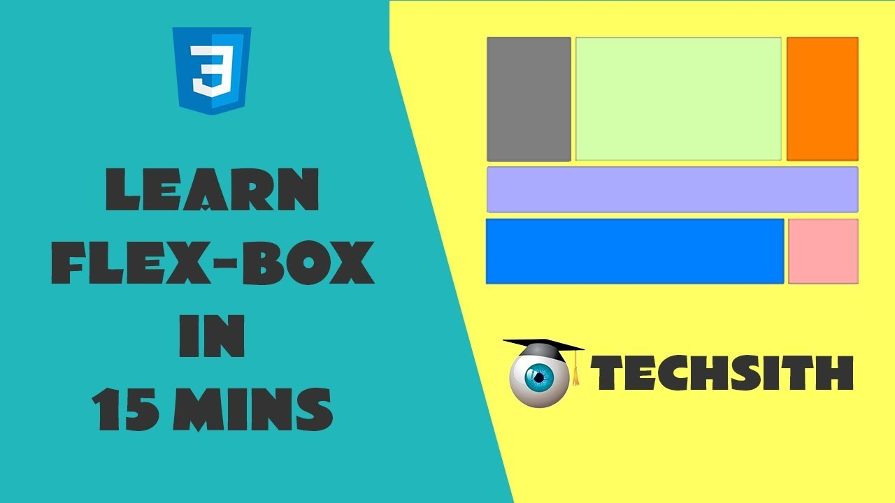 Download Learn Flex-box layout in 15 minutes    CSS Flex Basics tutorial