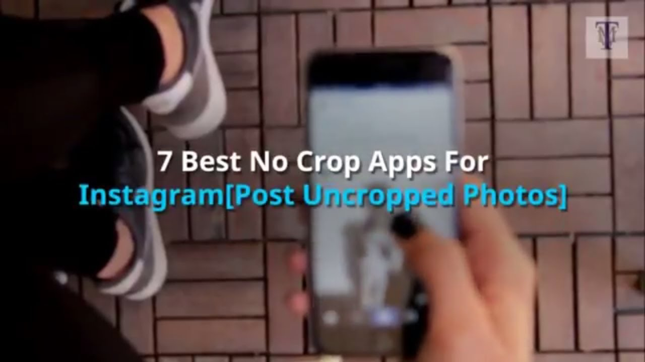 7 Best No Crop Apps For Instagram [Post Uncropped Photos] | TechsMyWay