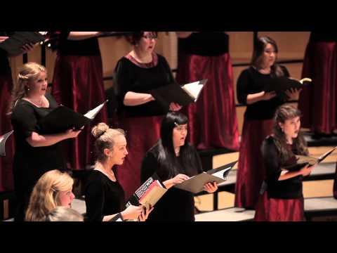 "University of Utah's Women's Chorus performing ""The Snow""- Edward Elgar"