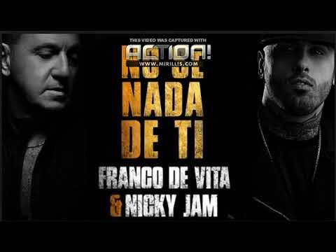 Franco de Vita, Nicky Jam - No Sé Nada de Ti