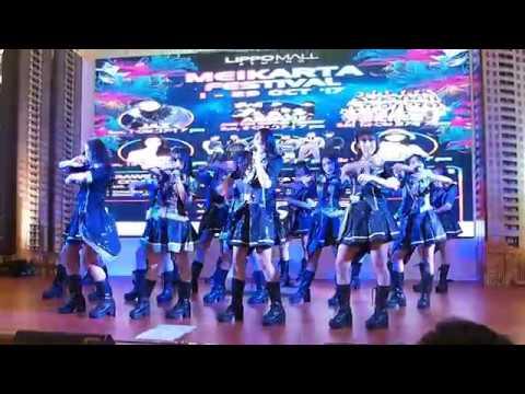JKT48 team K3 performance @ Lippo mall Kemang 14102017