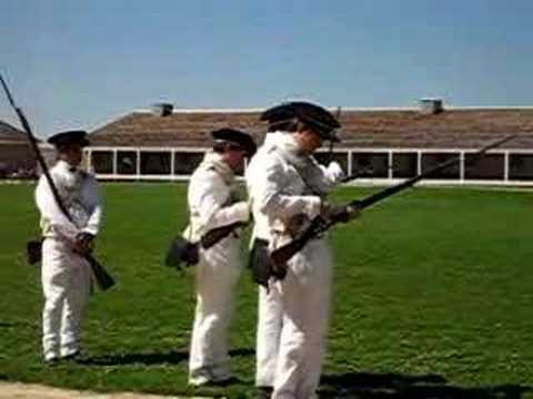 Ft Snelling Infantry Drill