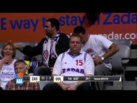 Full: Zadar – Union Olimpija [ABA – Round 8] [31/10/2015]