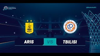 LIVE 🔴 - Aris v Dinamo Tbilisi - Qualification Rd. 1 - Basketball Champions League 2018-19