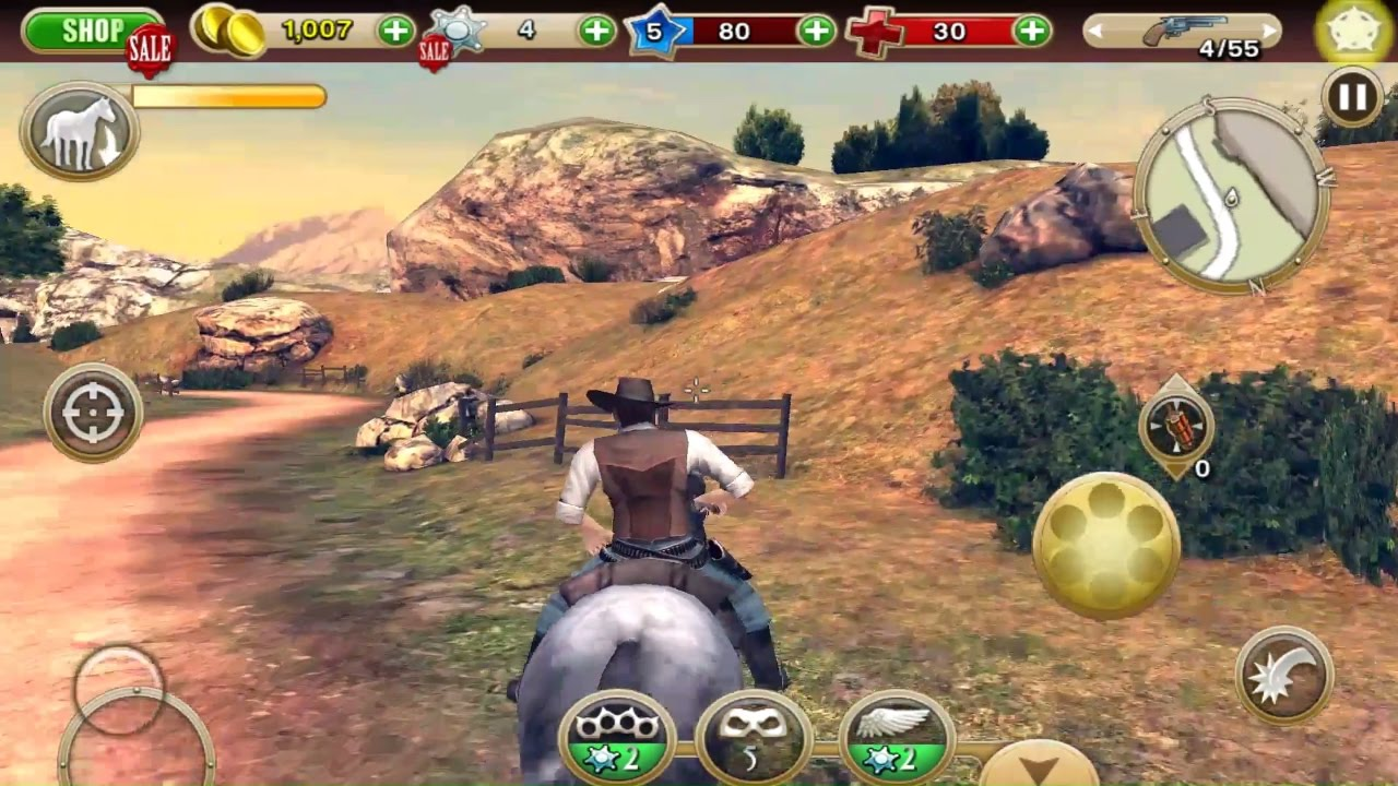 Six Guns Gang Showdown Android And Ios Gameplay 3d Open World