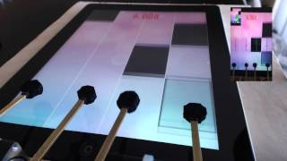 Piano Tiles 2 Robot | Beginner 21.079 Record(Robot breaks the record for Piano Tiles on the iPad. Technical details: Overhead iPhone 6+ processes video of the iPad screen at 120 fps. iPhone tracks tile ..., 2016-04-26T20:18:35.000Z)
