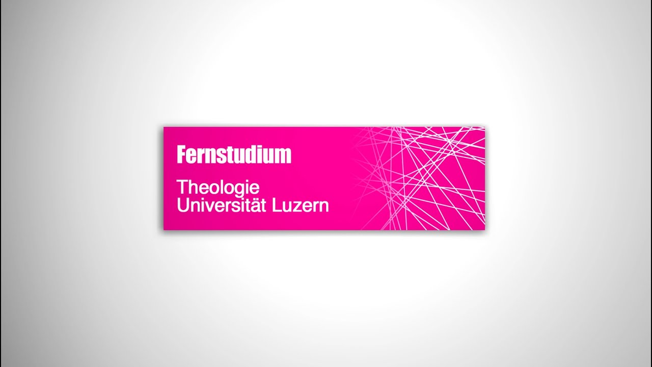 Theologie Fernstudium