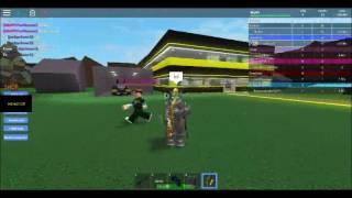 Trolling/Killing People on Roblox Super Hero Tycoon w/ drackest