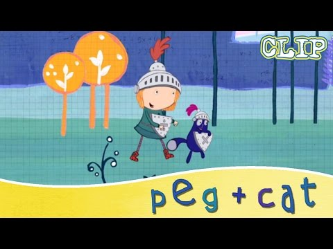 Peg + Cat - Peg the Bold and Brave Sir Cat