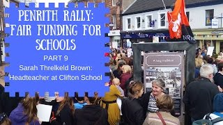 9   schools just wanna have funds sarah threlkeld brown ht of clifton primary school