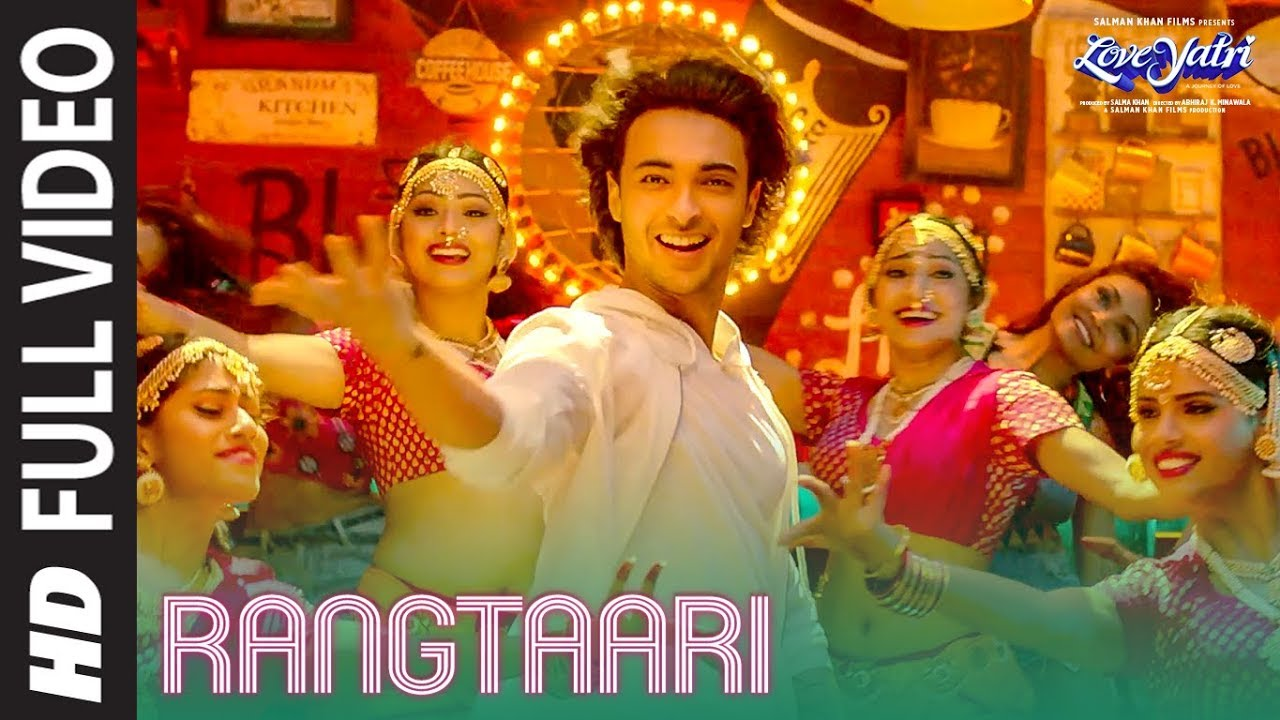 Rangtaari Full Video Loveyatri Aayush Sharma Warina Hussain Yo Yo Honey Singh Tanishk Bagchi