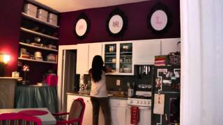 The Itsy Bitsy Apartment With Huge Design - Tiny, Eclectic Amazing Spaces Video
